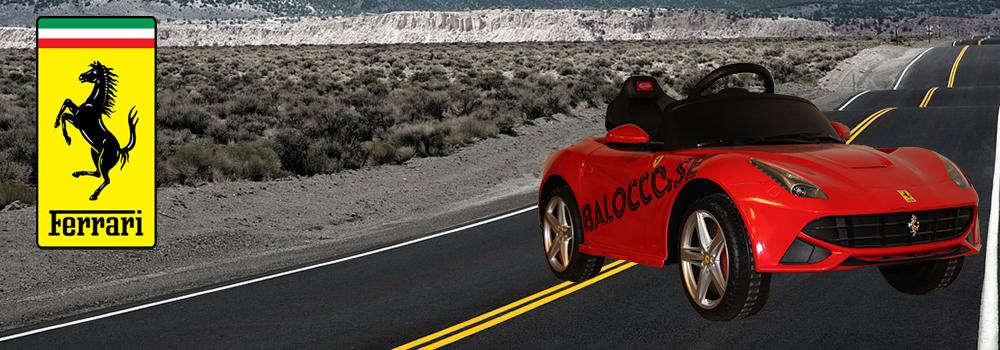 Ferrari F12 Berlinetta elbil för barn